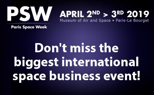 #PSW19 will be on April 2nd & 3rd! Do not delay any longer to register, there are only a few places left... 😨 Discover the participants now on http://bit.ly/2VD8fDo Still not registered?! Call us at +33 (0)1 46 90 19 02  #innovation #spaceindustry #event #Paris #technology