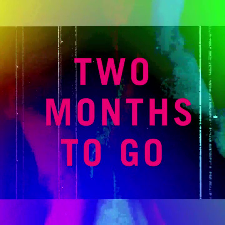 IT'S COMING... Just 2 months to go until #TGE19👀