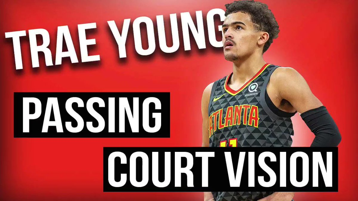 By far my favorite thing about Trae Young's passing is when he throws a lob he jumps with his teammates dunking the ball.