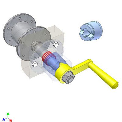 Cone Irreversible Lock