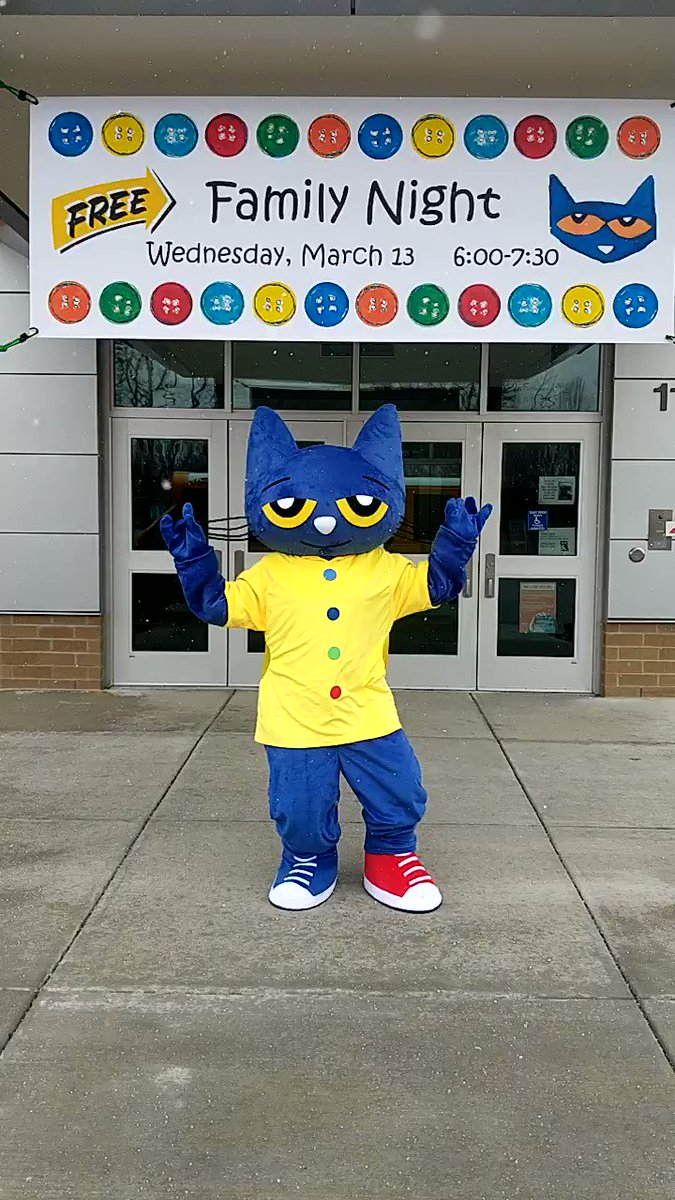 Image for the Tweet beginning: Pete the Cat wants to