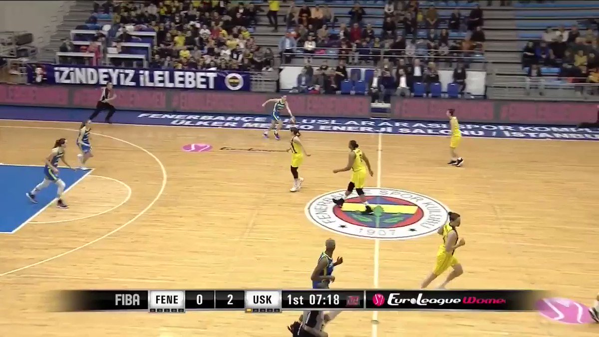 .@tejaoblak3 is heading to @EuroLeagueWomen #EuroLeagueWomen Final Four  We are so proud of her and the season she is having @ZVVZUSKPRAHA   A starter and pivotal contributor as usual...plus another ⏲️ beater in the big W at #Fenerbahce  Amazing 👏👏👏 #KoyerSport @kzs_si