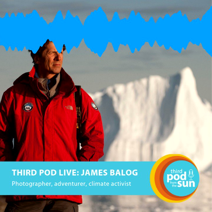 Image for the Tweet beginning: James Balog's documentary Chasing Ice