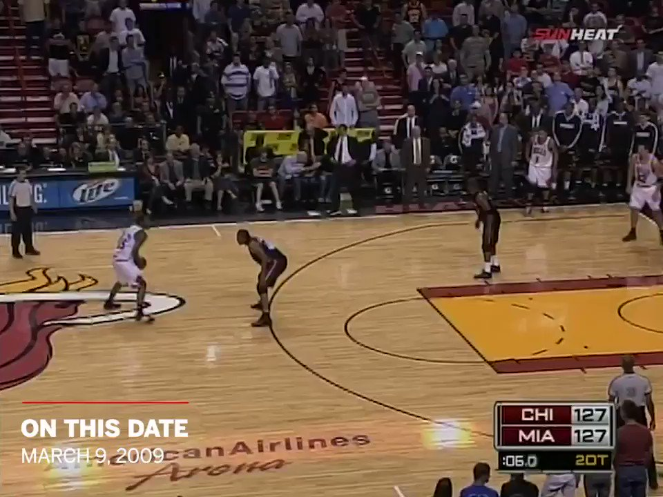 On This Date: 10 years ago, D-Wade let them know ... 'THIS IS MY HOUSE!' https://t.co/FI1ozKmZyK