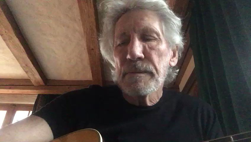 Pink Floyd's Roger Waters calls for people to join in protests to #FreeAssange in Melbourne and London today (Sunday) and plays song for Chelsea Manning -- formally jailed on Friday to coerce her into secretly testifying against Assange: