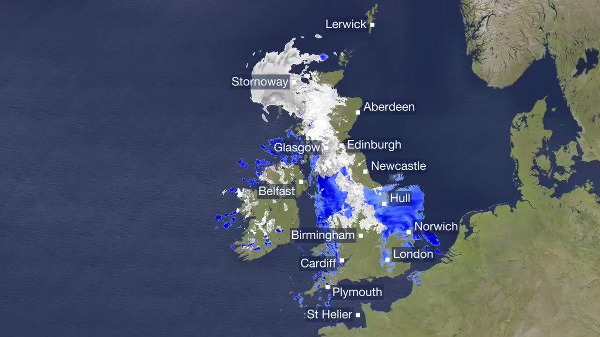 BBC Weather's photo on #snow