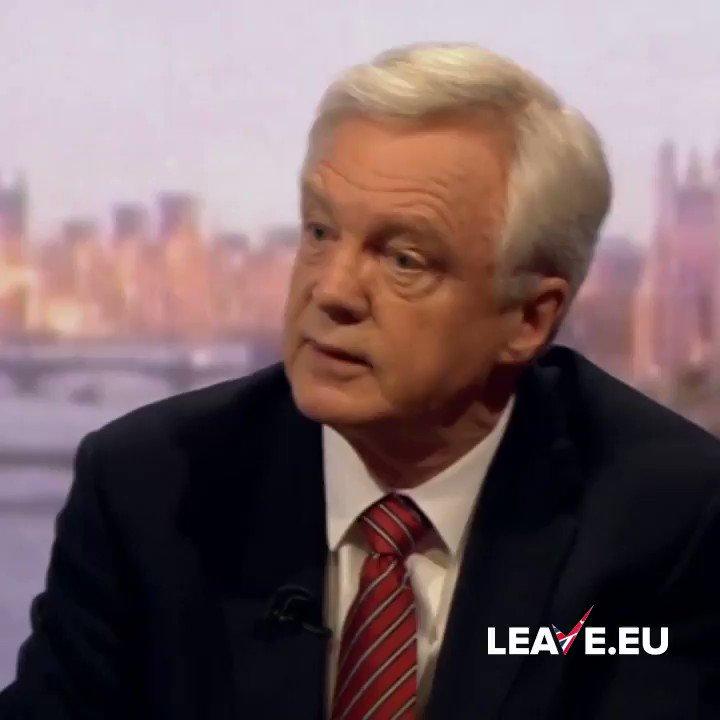 Leave.EU's photo on David Davis