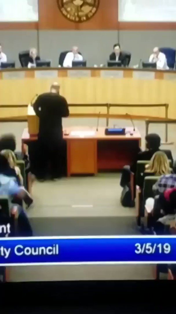 THIS MAN IS A HERO!   Addressing City Council about police killing innocent Black Men.  RETWEET THIS!