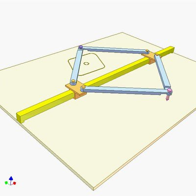 Instrument for Tracing a Symmetric Curve