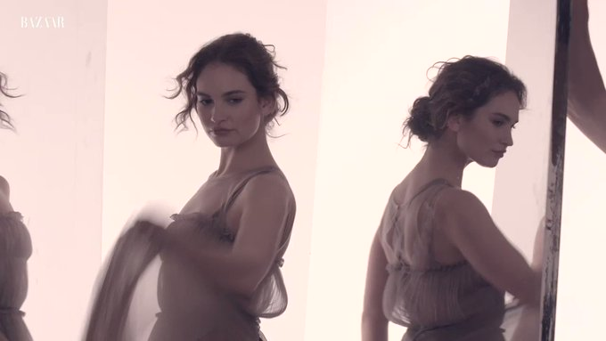 Happy 30th birthday to queen Lily James.