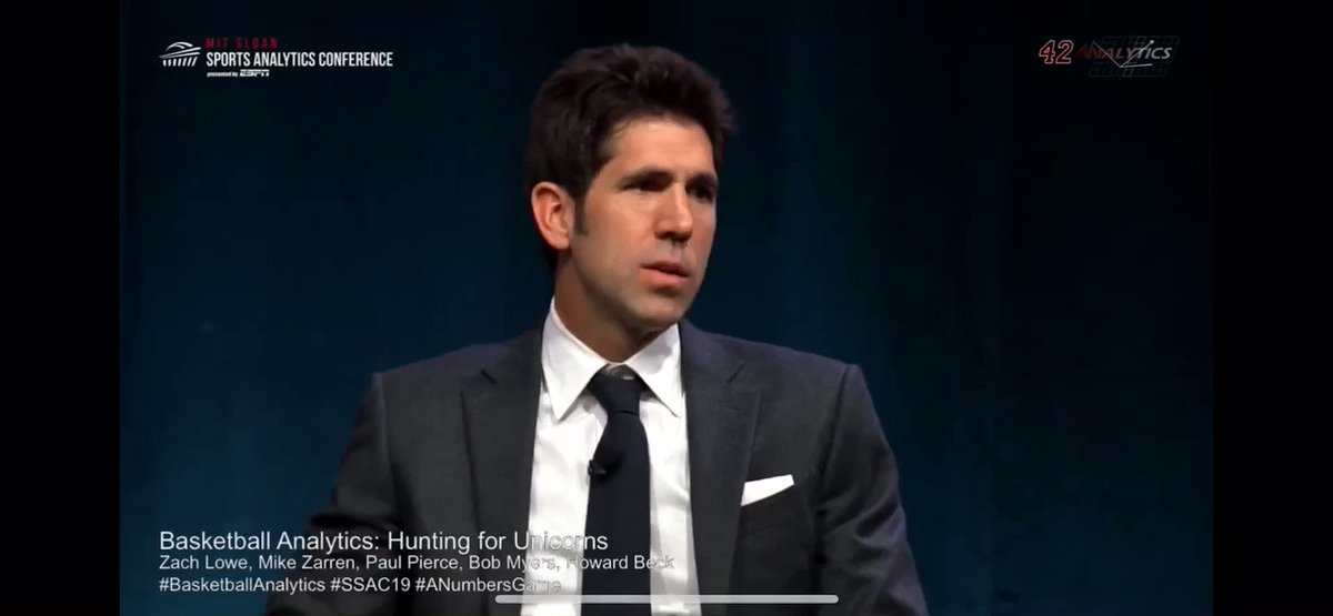 Former UCLA basketball player, NBA agent and current Warriors President of basketball operations, Bob Myers, explaining beautifully why you judge players in the playoffs. Not the regular season. When players constantly underperform in the postseason it's NOT a coincidence.