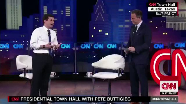 """Pete Buttigieg on Pence's support of Trump: """"How could he allow himself to become the cheerleader of the porn star presidency. Is it that he stopped believing in scripture when he started believing in Donald Trump?"""" Via CNN"""