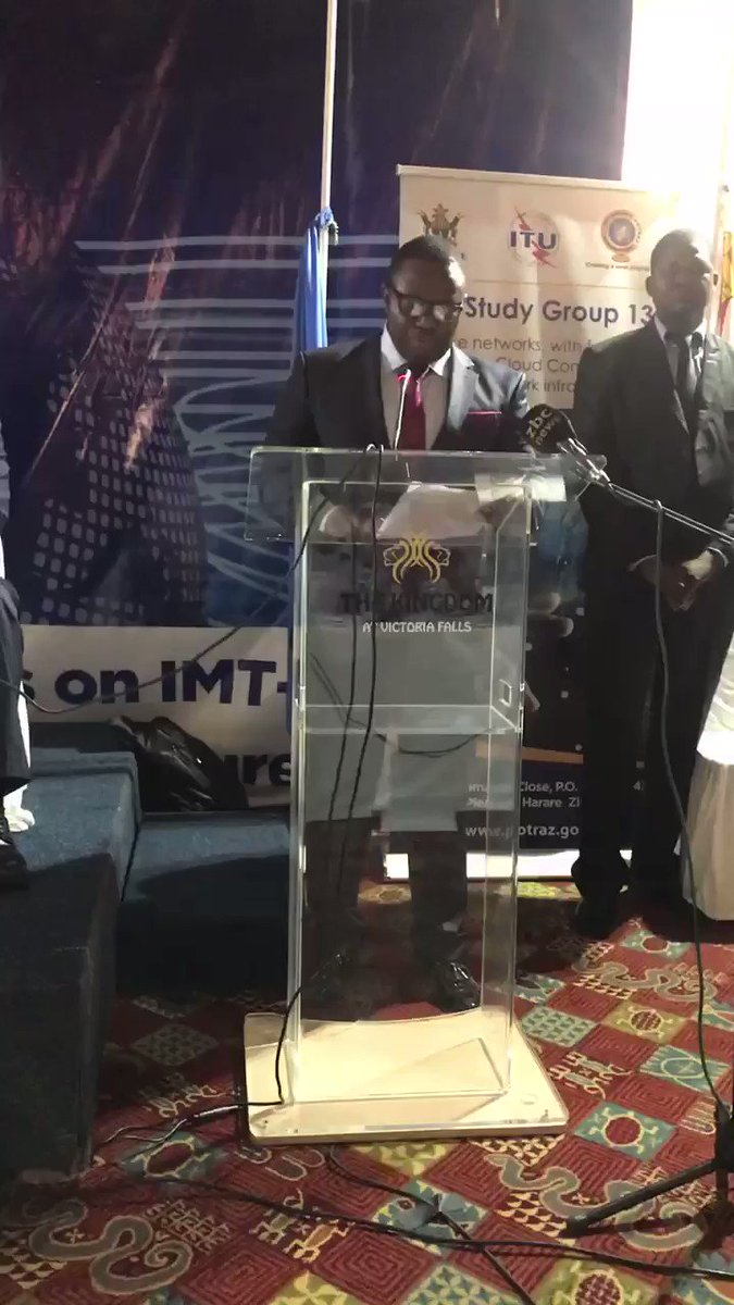 Hon Kazembe Kazembe addressing delegates at the meeting