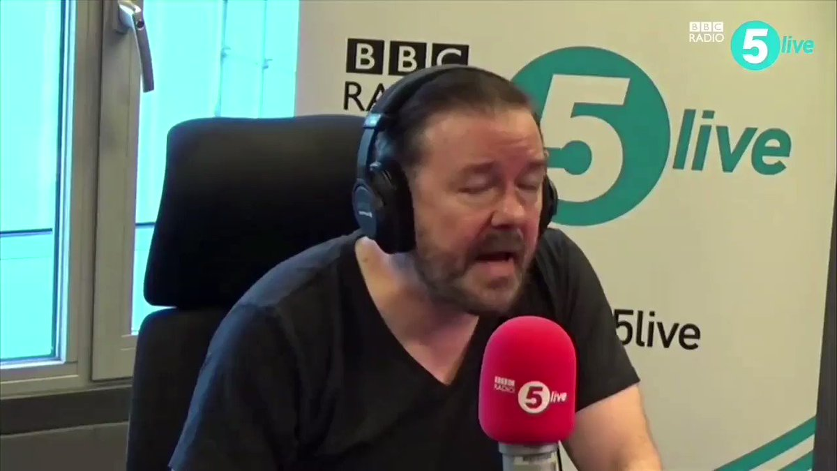 AnimalJusticeProject's photo on Ricky Gervais