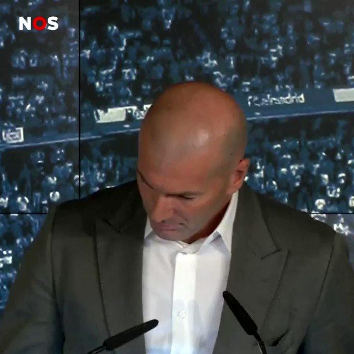 """Zinédine Zidane over terugkeer bij Real Madrid: """"Het is heel fijn om weer thuis te zijn"""""""