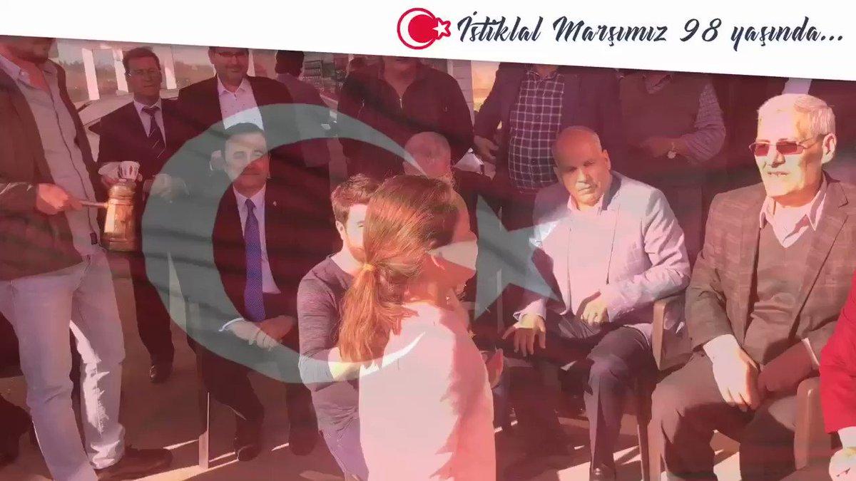İstiklal Marşımızın #TBMM tarafından kabulünün yıldönümünde Cumhuriyetimizin kurucusu Gazi Mustafa Kemal Atatürk'ü ve silah arkadaşlarını;  Milli şairimiz #MehmetAkifErsoy'u ve aziz şehitlerimizi rahmet ve minnetle anıyorum🇹🇷  Allah onlardan razı olsun.   #12Mart1921