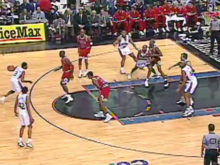 On This Date: In 1997, Allen Iverson crossed up Michael Jordan as a rookie. https://t.co/hNvQhJIVBQ