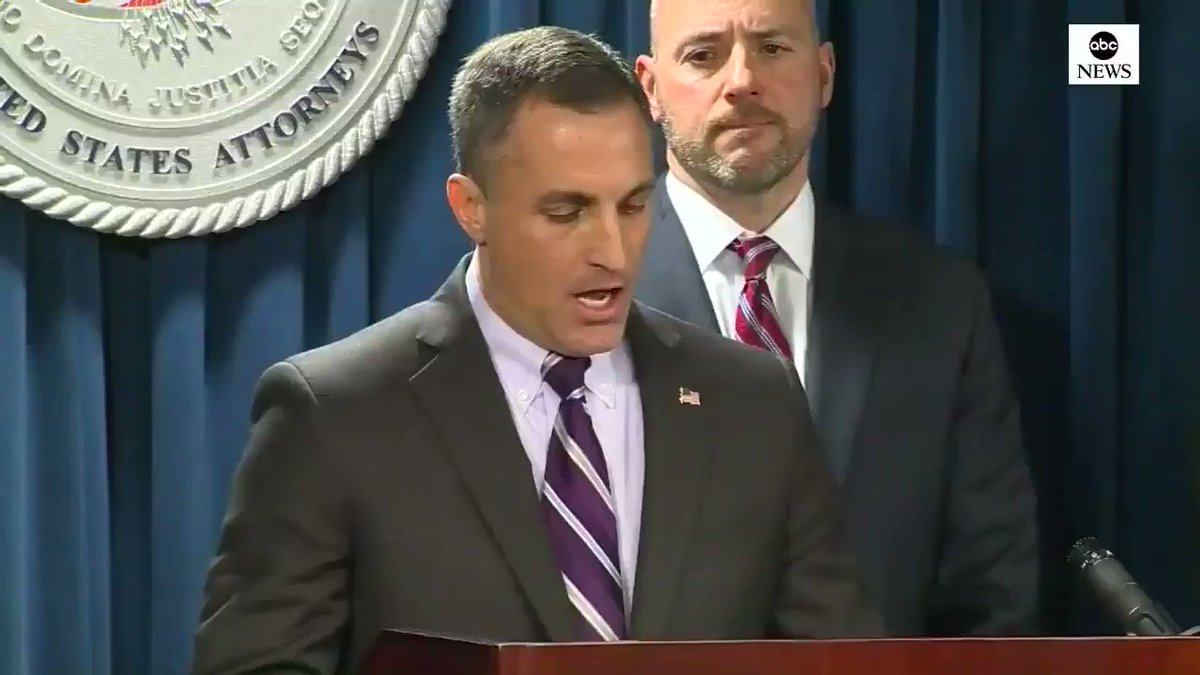 """FBI special agent says 300 FBI, IRS agents participated in arrests in alleged college cheating scam, named """"Operation Varsity Blues""""; 38 individuals have been taken into custody so far. http://abcn.ws/2EXG8Id"""