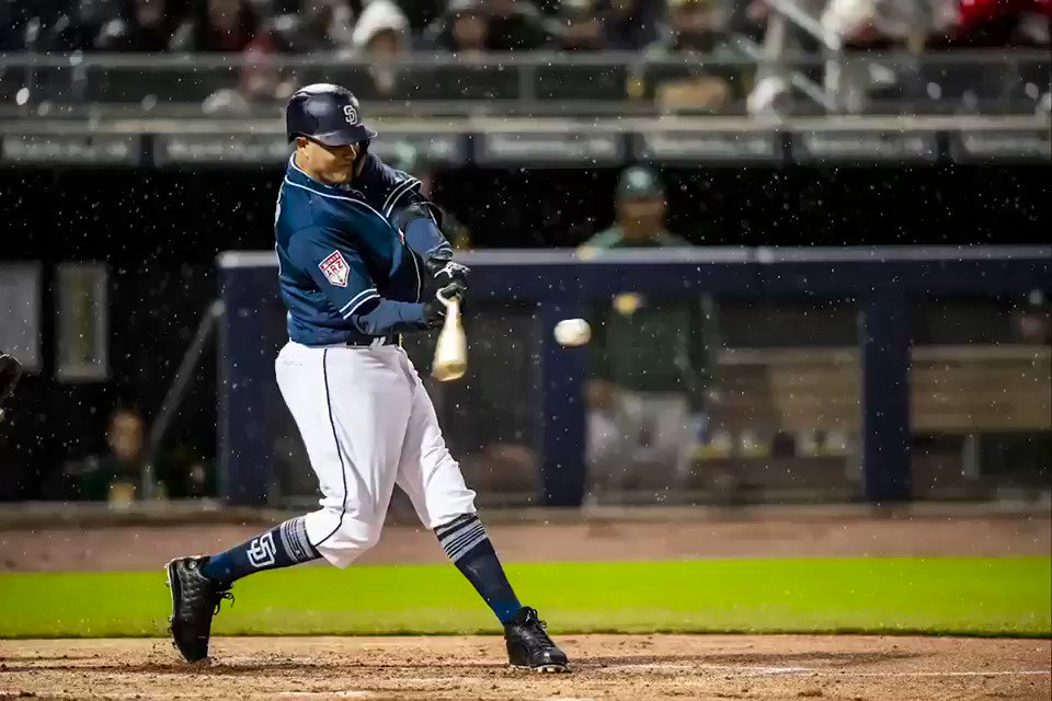 Image for the Tweet beginning: Manny hitting bombs 💣 #TR