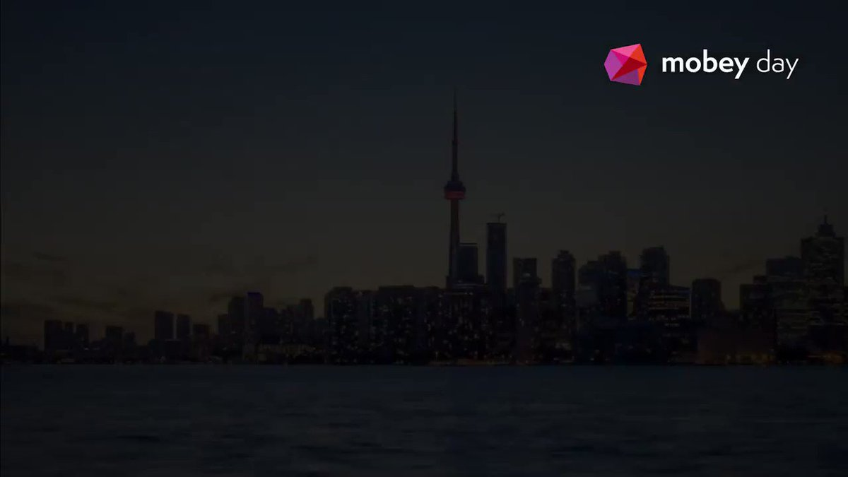 Image for the Tweet beginning: Mobey Day Toronto calling! Join