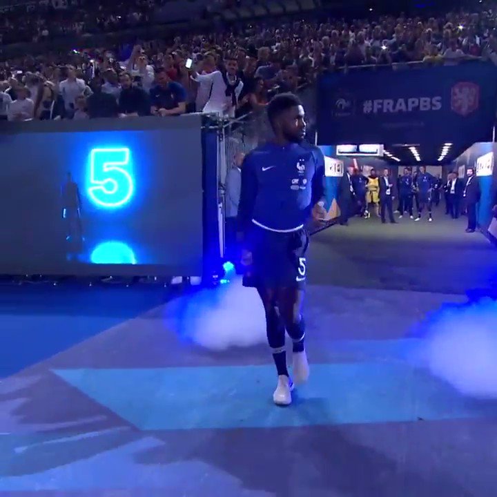 Samuel Umtiti's World Cup walk never gets old 😂   (via @EURO2020) https://t.co/RfUc3Es3QT