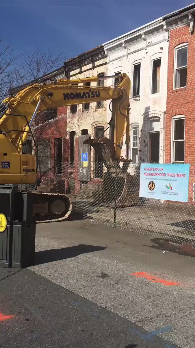 Demolition of the 500 Block of Baker Street is about to begin.  Tune in to Facebook Live for announcement.
