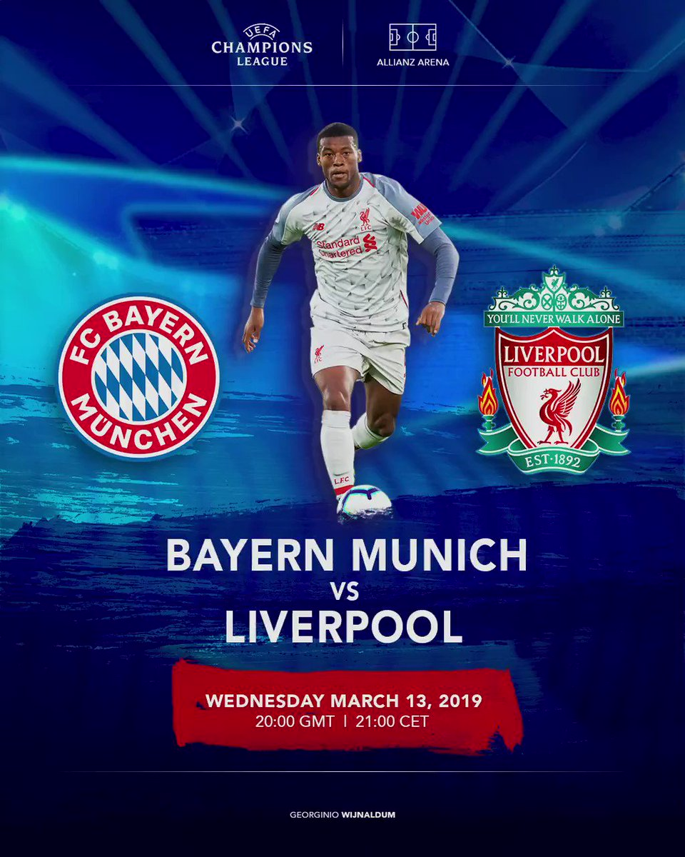 Nothing like Champions League nights! 🙌🏾 Are your ready Reds!? 🔴 #UCL #YNWA