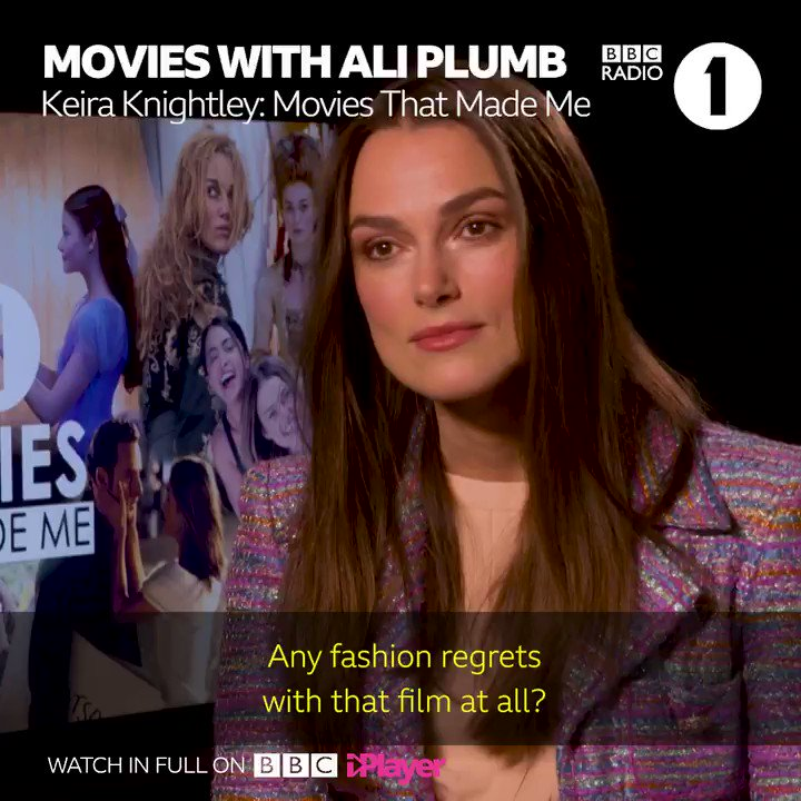 If you like movie trivia and finding out the real reason Kiera Knightley wore THAT hat in Love Actually press 🔴 and watch @BBCR1 @AliPlumb's 'Movies That Made Me 2' now!