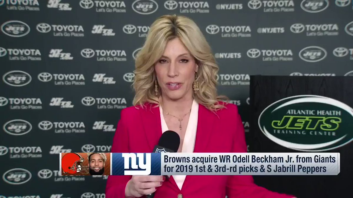 A personal note on the Odell Beckham Jr I know. Wishing @obj much success with the #Browns. @nflnetwork https://t.co/nmmh4elbGJ