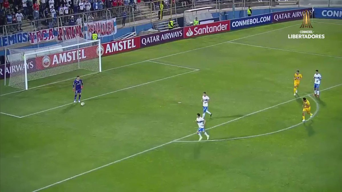 🔊up to listen to that roar from the @CruzadosSADP crowd as Edson Puch put them in front!  #CONMEBOLLibertadores  https://t.co/srihAWOQZm