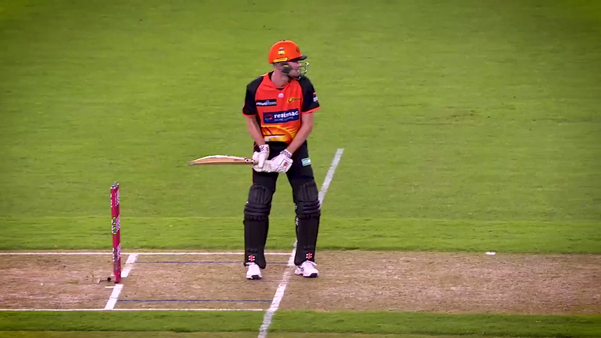 #scorchingmoment when AT decided to launch the ball at the roof!!  🚀https://bit.ly/2GSNIqe #MADETOUGH