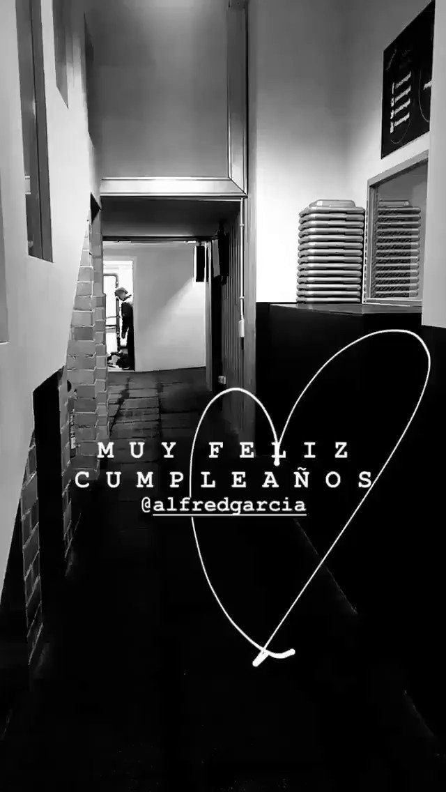 Alfred García Info's photo on #Felices22Alfred