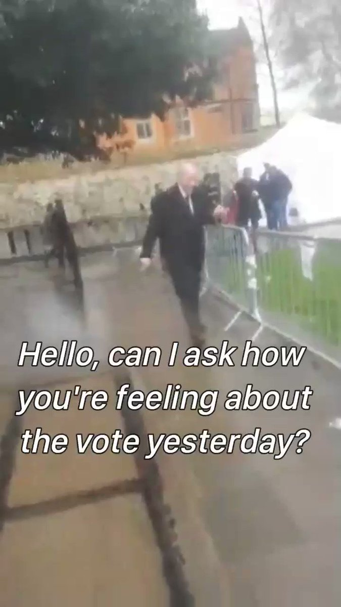 #IsItOk for a Member of Parliament to call a member of the public a w**ker? @DamianGreen