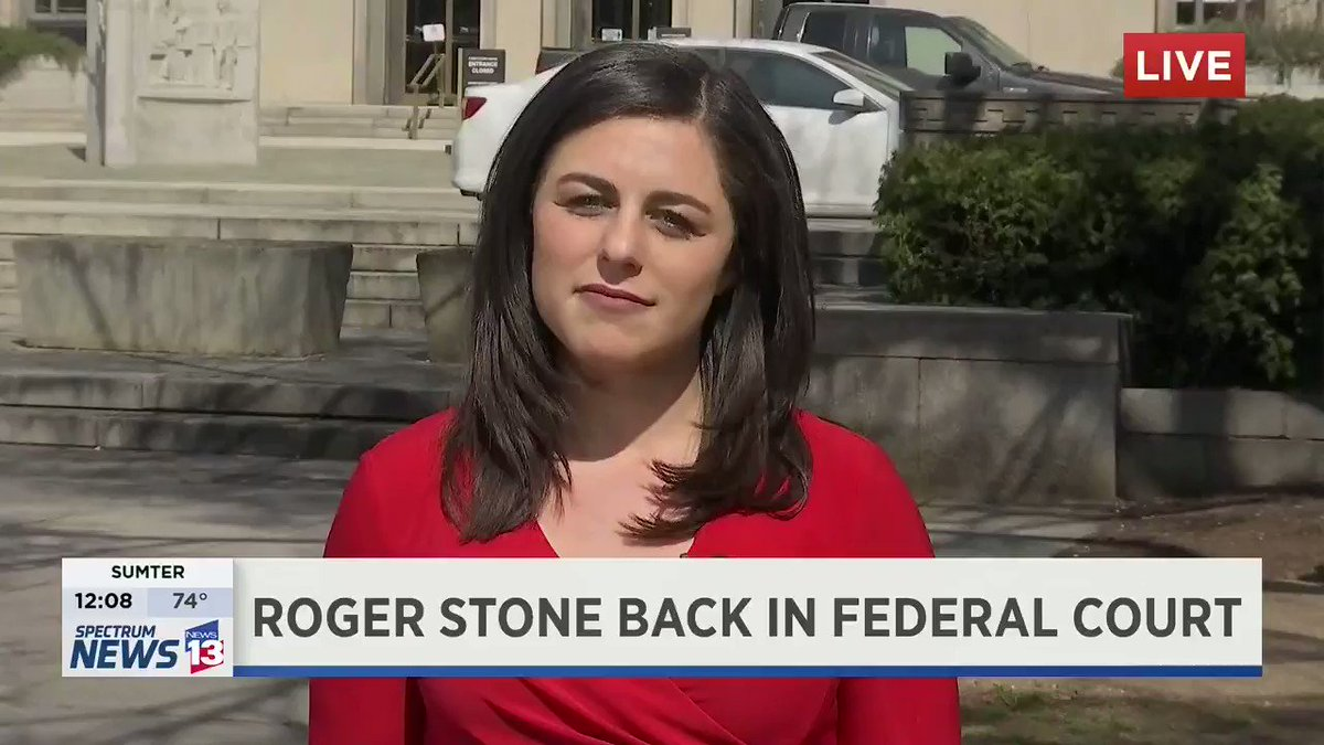 President Trump's long-time political advisor, Roger Stone was back in federal court  - where he appeared in front of the same judge that sentenced Paul Manafort to prison yesterday. I've got more on what we can expect as the case moves forward LIVE on @MyNews13: