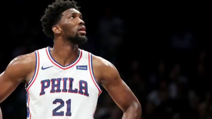 The @sixers are night and day without @JoelEmbiid.  But does the big man still have a case for MVP? 👀