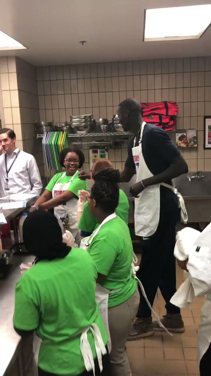 Time to kick it up a notch in the kitchen. @ThonMaker14 is here and ready to cook ...