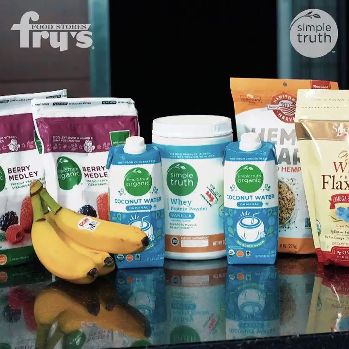 We're kicking off #NBAFitWeek with our @FrysFoodStores three video series tasty videos!   On today's menu: Berry Banana Protein Shake! #SunsFit #LoveMyFrys