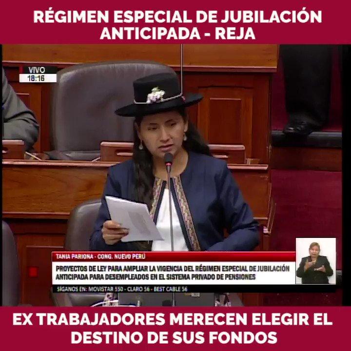 Tania Pariona Tarqui's photo on El Parlamento