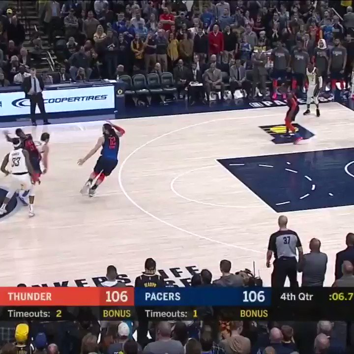 Wes Matthews with the PUTBACK GAME WINNER 🔥