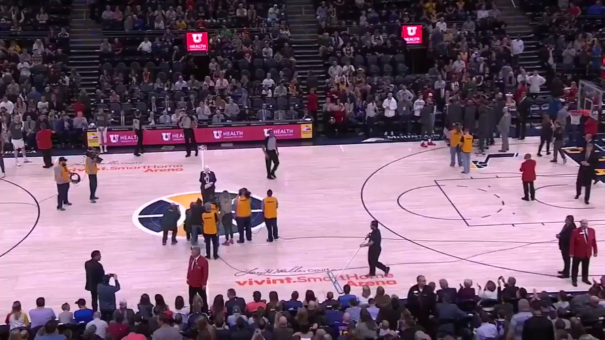 """""""This should never happen. We are not a racist community. We believe in treating people with courtesy and respect as human beings.""""  –Jazz owner Gail Miller's message to Utah fans before Thursday's game"""