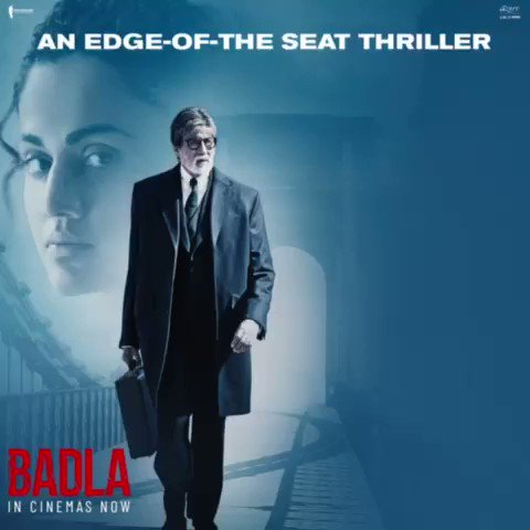 So glad people are loving #Badla. A big thanks to the audiences who gave a warm welcome to the film! https://t.co/SkDConVF0C