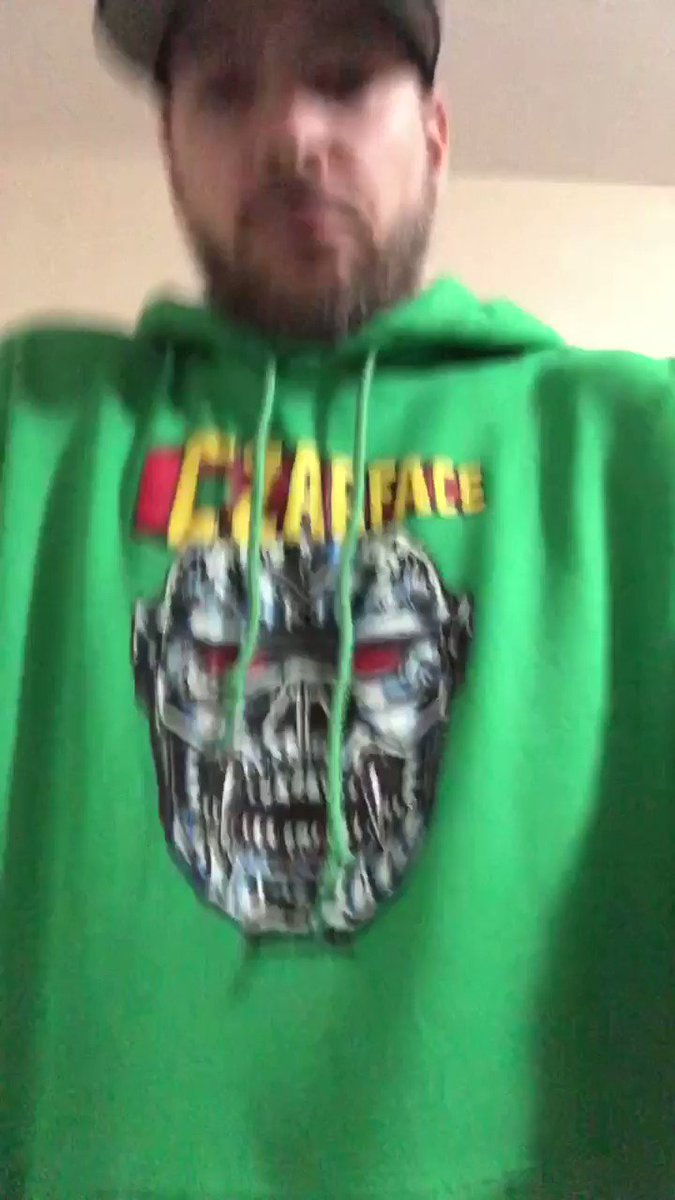 Ready for St. Patrick's Day...Naw, ready for #CzarDay   @Czarface_Eso  @DJ_7L  @INSpectahDECKWU  #Czarface  #faceczar  #HappyStPatricksDay