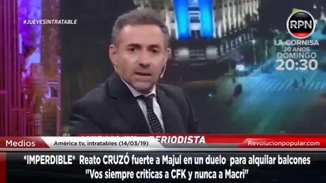 El Destape Radio's photo on Reato
