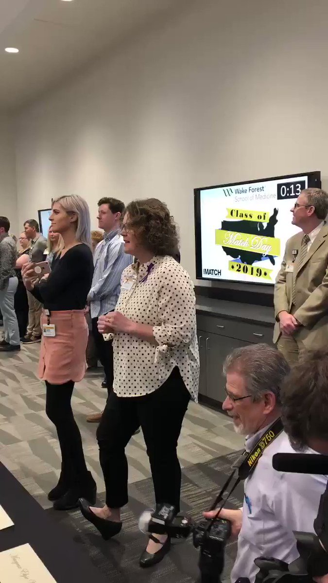 Wake Forest School of Medicine's photo on #MatchDay2019