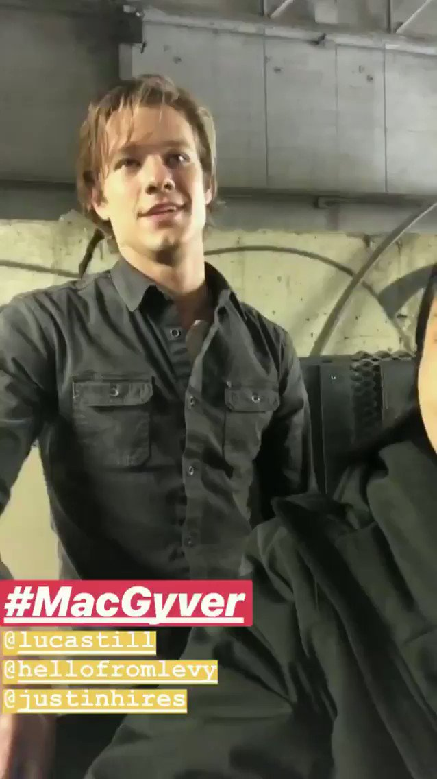 LUCAS TILL UPDATES's photo on #MacGyver