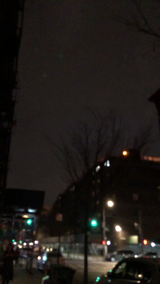 Weird question, does anybody know what's up with the silent lightning in Alphabet City?