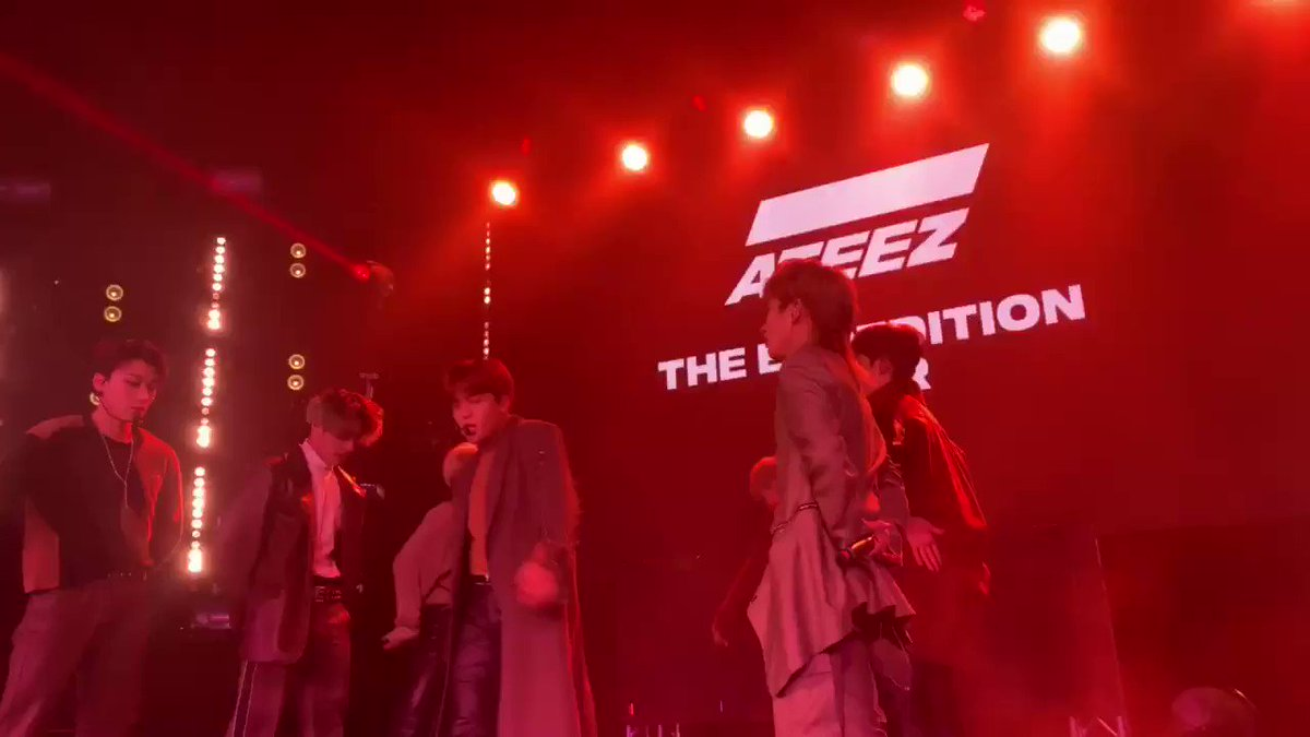 ATEEZ TOUR STARTS TODAY's photo on #ATEEZExpeditionTourLA