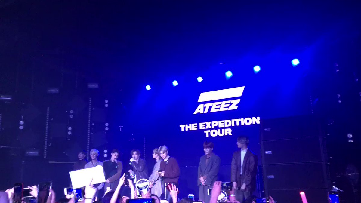 종호's valeria's photo on #ATEEZExpeditionTourLA