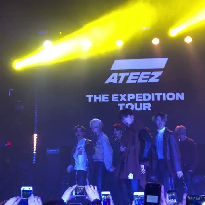 kris met ateez! 💎's photo on #ATEEZExpeditionTourLA