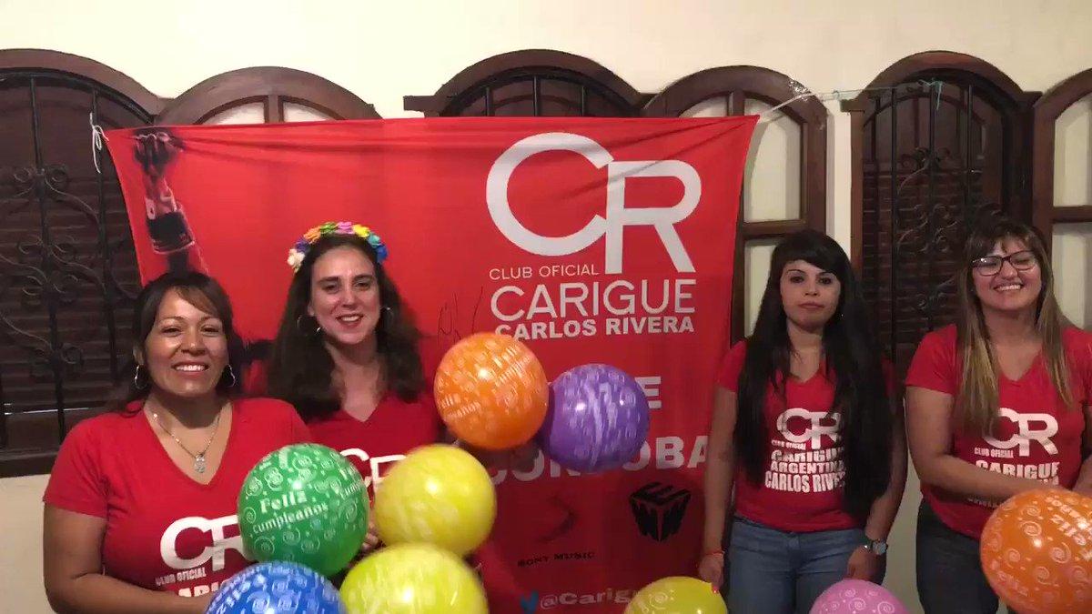 CARIGUE ARG Sede Cordoba's photo on #Felices33CarlosRivera